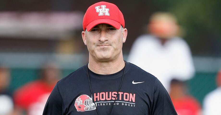 Former University of Houston coach Tony Levine is leaving the profession to spend more time with his family and pursue other interests. Photo: Bob Levey