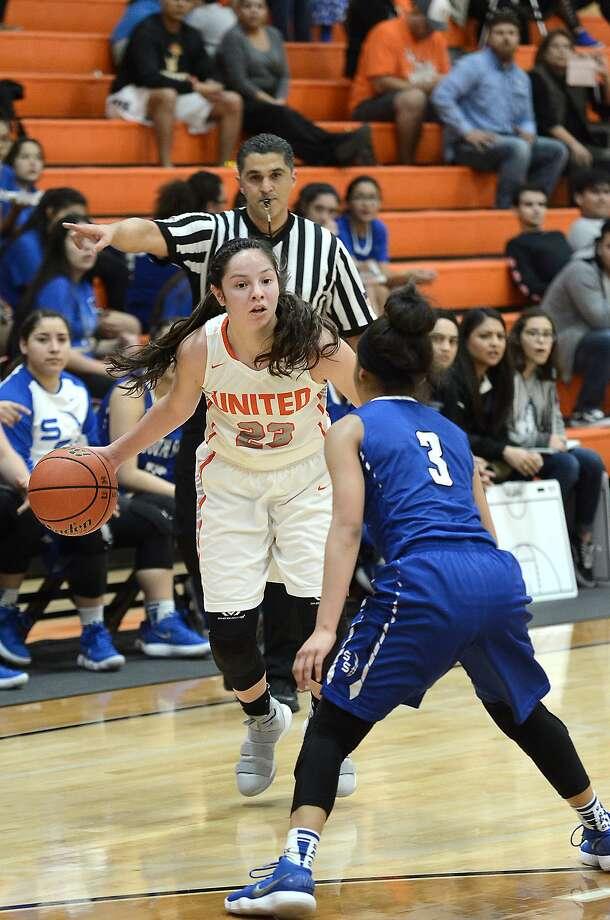 Natalia Trevino gives Laredo a representative in the TGCA 5A-6A All-Star game for the third straight season. Photo: Cuate Santos /Laredo Morning Times File / Laredo Morning Times