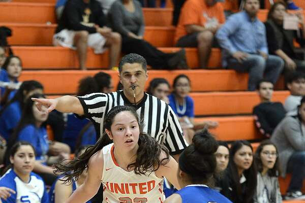 Natalia Trevino and United improved to 8-1 and maintained control of first place in District 29-6A with a 67-52 victory Saturday over South San.