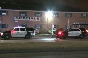 One person was shot after an argument inside a Post Oak Manor apartment unit.