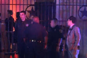 A woman was shot in the chest near the Eden nightclub.