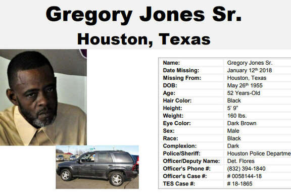 A Houston man went missing Jan. 12.