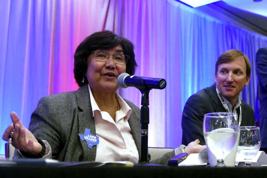 The race between Texas gubernatorial candidates Lupe Valdez and Andrew White for the Democratic nomination comes to an end Tuesday with the primary runoff. Polls open at 7 a.m. Photo: Billy Calzada /San Antonio Express-News / San Antonio Express-News