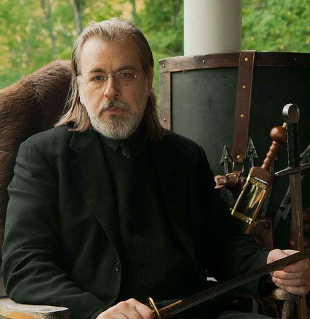 """Best-selling author Caleb Carr, who lives in the town of Berlin, has waited more than 20 years to see a screen adaptation finally get made of his novel """"The Alienist."""" A 10-episode TV series starts Monday, Jan. 22, on TNT."""