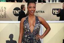 LOS ANGELES, CA - JANUARY 21: Actor Samira Wiley attends the 24th Annual Screen Actors Guild Awards at The Shrine Auditorium on January 21, 2018 in Los Angeles, California. 27522_017  (Photo by Frederick M. Brown/Getty Images)