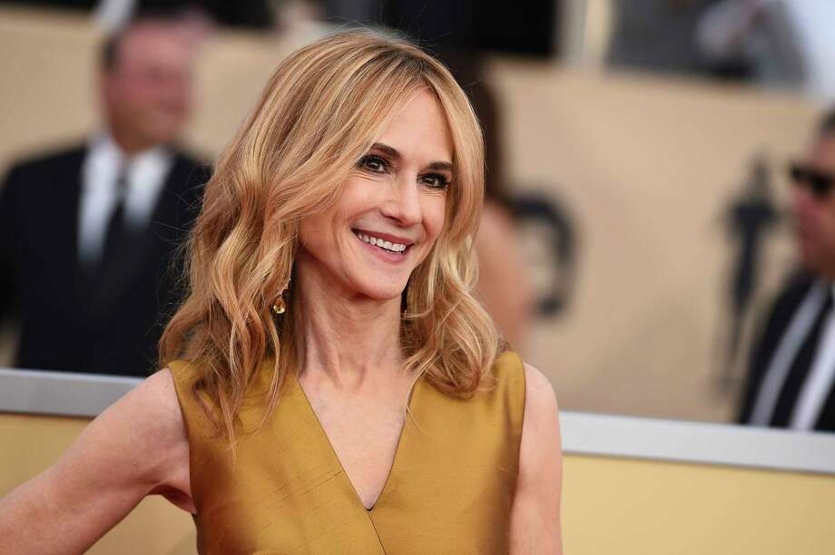 Holly Hunter arrives at the 24th annual Screen Actors Guild Awards at the Shrine Auditorium & Expo Hall on Sunday, Jan. 21, 2018, in Los Angeles. (Photo by Jordan Strauss/Invision/AP) Photo: Jordan Strauss, Jordan Strauss/Invision/AP / 2018 Invision