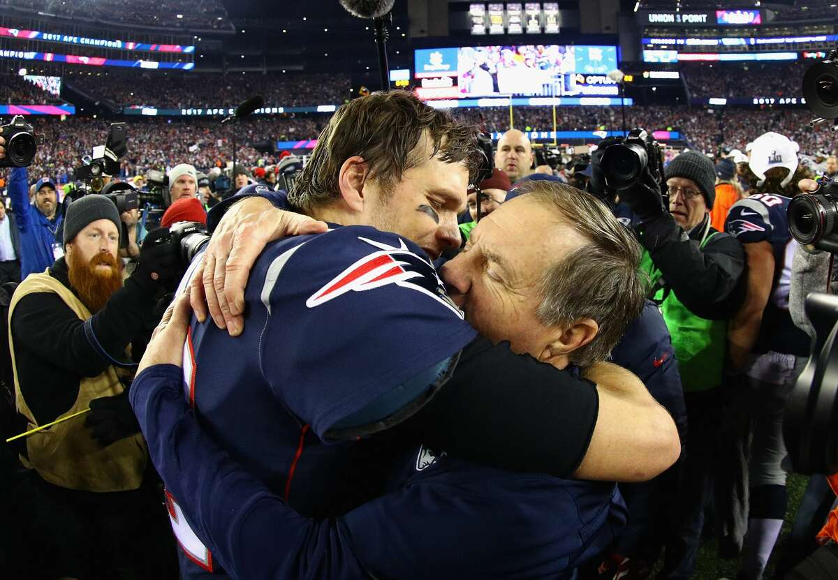 History beckons The Patriots have built an admirable dynasty as they seek to repeat as Super Bowl champions on Feb. 4 in Minnesota. Tom Brady and coach Bill Belichick are making their eighth trip to the Super Bowl and are attempting to win their sixth championship. That would tie the Pittsburgh Steelers for the most Vince Lombardi trophies in NFL history.