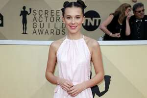 LOS ANGELES, CA - JANUARY 21: Actor Millie Bobby Brown attends the 24th Annual Screen Actors Guild Awards at The Shrine Auditorium on January 21, 2018 in Los Angeles, California. 27522_017  (Photo by Frederick M. Brown/Getty Images)