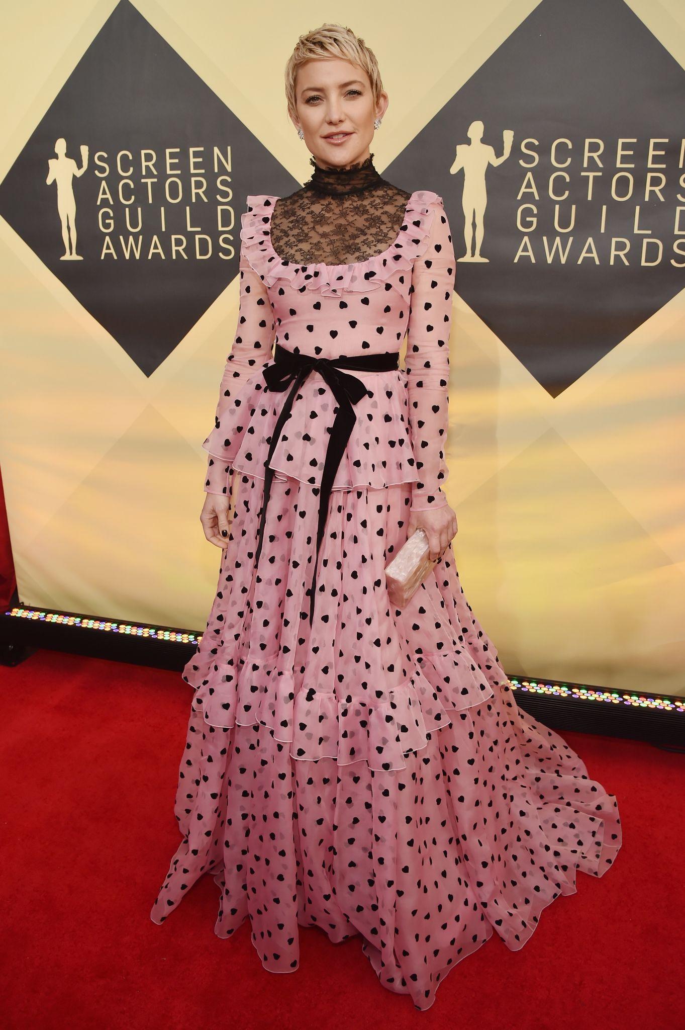 Kate Middleton's 2019 BAFTAs Red Carpet Fashion