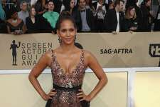 LOS ANGELES, CA - JANUARY 21:  Actor Halle Berry attends the 24th Annual Screen Actors Guild Awards at The Shrine Auditorium on January 21, 2018 in Los Angeles, California. 27522_017  (Photo by Frederick M. Brown/Getty Images)