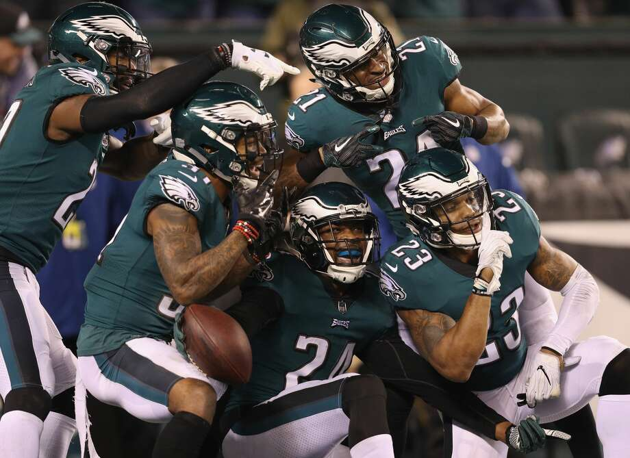 Rabid Eagles defenseChuck Bednarik and Reggie White would be quite proud of this aggressive Philadelphia Eagles' defense.In the tradition of great defense, the Eagles thoroughly dominated the Minnesota Vikings with a 38-7 NFC championship game win that stamped their ticket to the Super Bowl.Between a relentless front seven headlined by Fletcher Cox and Brandon Graham and Patrick Robinson exploiting former Texans quarterback Case Keenum for a 50-yard interception return for a touchdown, the Eagles trounced the Vikings.A defense coordinated by a brainy Jim Schwartz has yielded just 33 points in its past four games and only 17 points through two playoff games.With three turnovers Sunday, the Eagles manufactured a convincing triumph that would meet with the approval of the late, great Bednarik and White. Photo: Patrick Smith/Getty Images