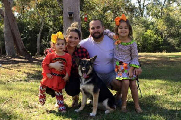 A Chambers County-area family is pleading with the public for help in finding their 2-year-old German Shepard after being missing for more than 2 weeks. A possible $1,000 reward is offered for any information leading to the dog's location.