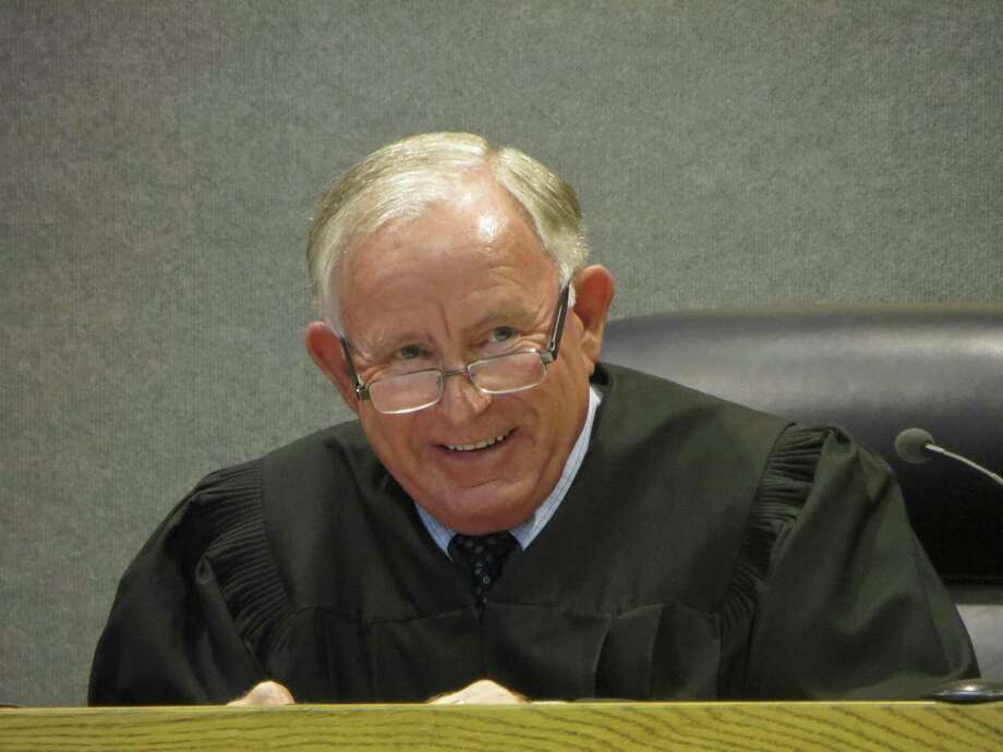 State District Judge Jack Robison said he expects his ruling to be appealed, whether he grants or denies a defense motion seeking dismissal of the charge against Justin Carter. Photo: Zeke MacCormack, Staff / San Antonio Express-News / San Antonio Express-News