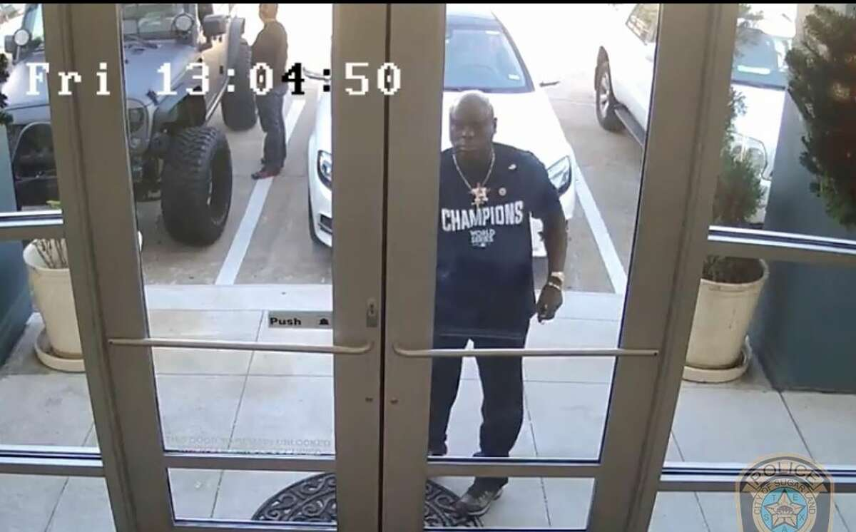 Sugar Land police have released security video from a Dec. 1 jewelry store robbery.
