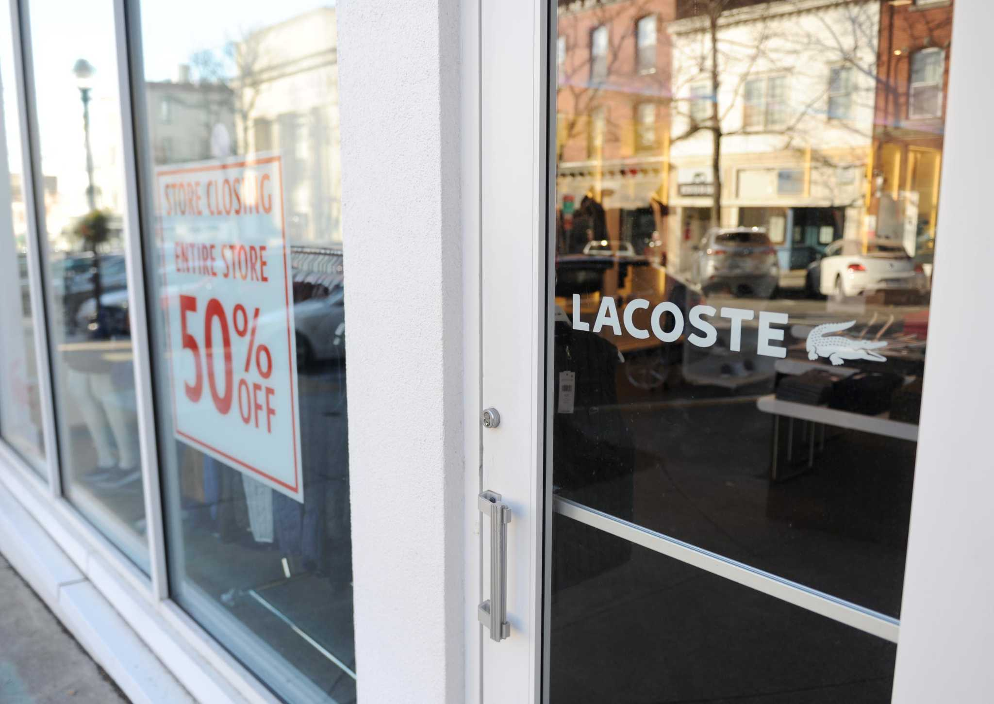 Transitions: Greenwich Ave. Lacoste signals closure