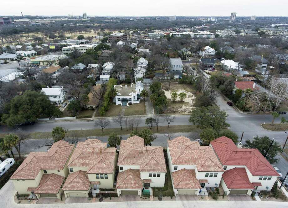 Newer (bottom) and original (top) housing are part of the Westfort Alliance neighborhood along Broadway. Two homes from the 1920s and 1930s were recently demolished, raising concerns among Westfort residents. Photo: Photos By William Luther /San Antonio Express-News / © 2018 San Antonio Express-News