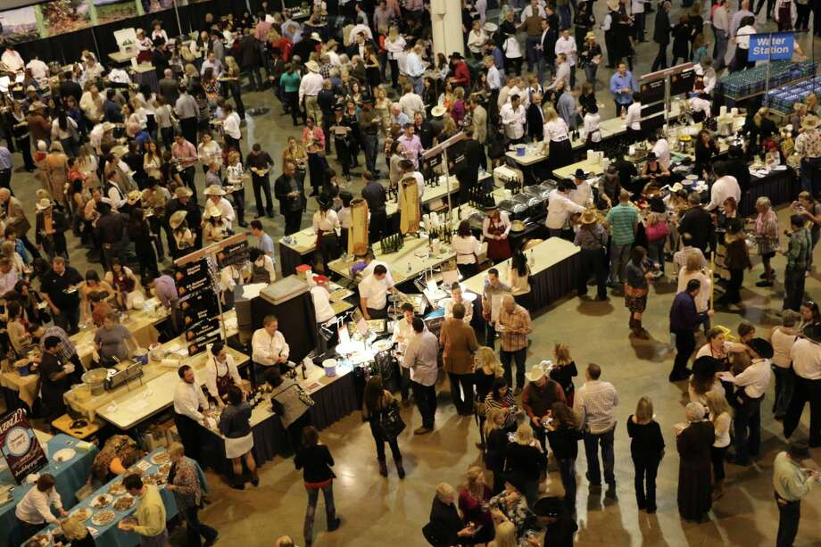 Enjoy top international wines paired with signature dishes at the Houston Rodeo Uncorked Roundup and  Best Bites Competition to be held on Sunday evening, Feb. 18.