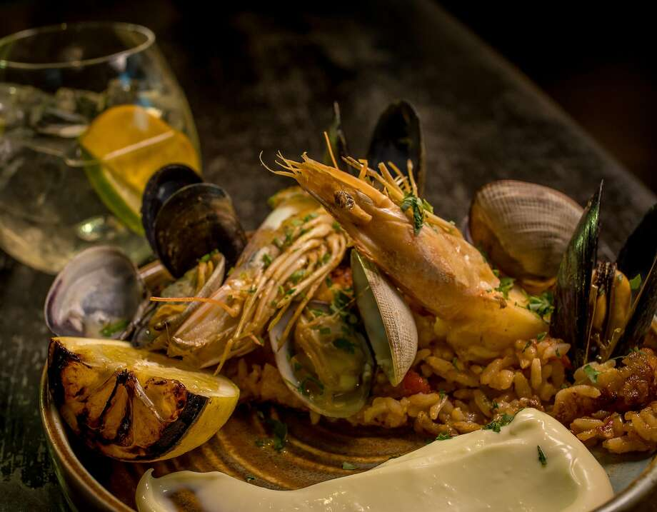 Seafood paella at Barvale in S.F. Photo: John Storey, Special To The Chronicle