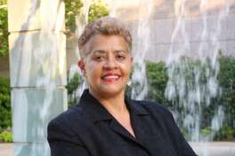 Evans-Shabazz has been named the new chair of the HCC board of trustees.