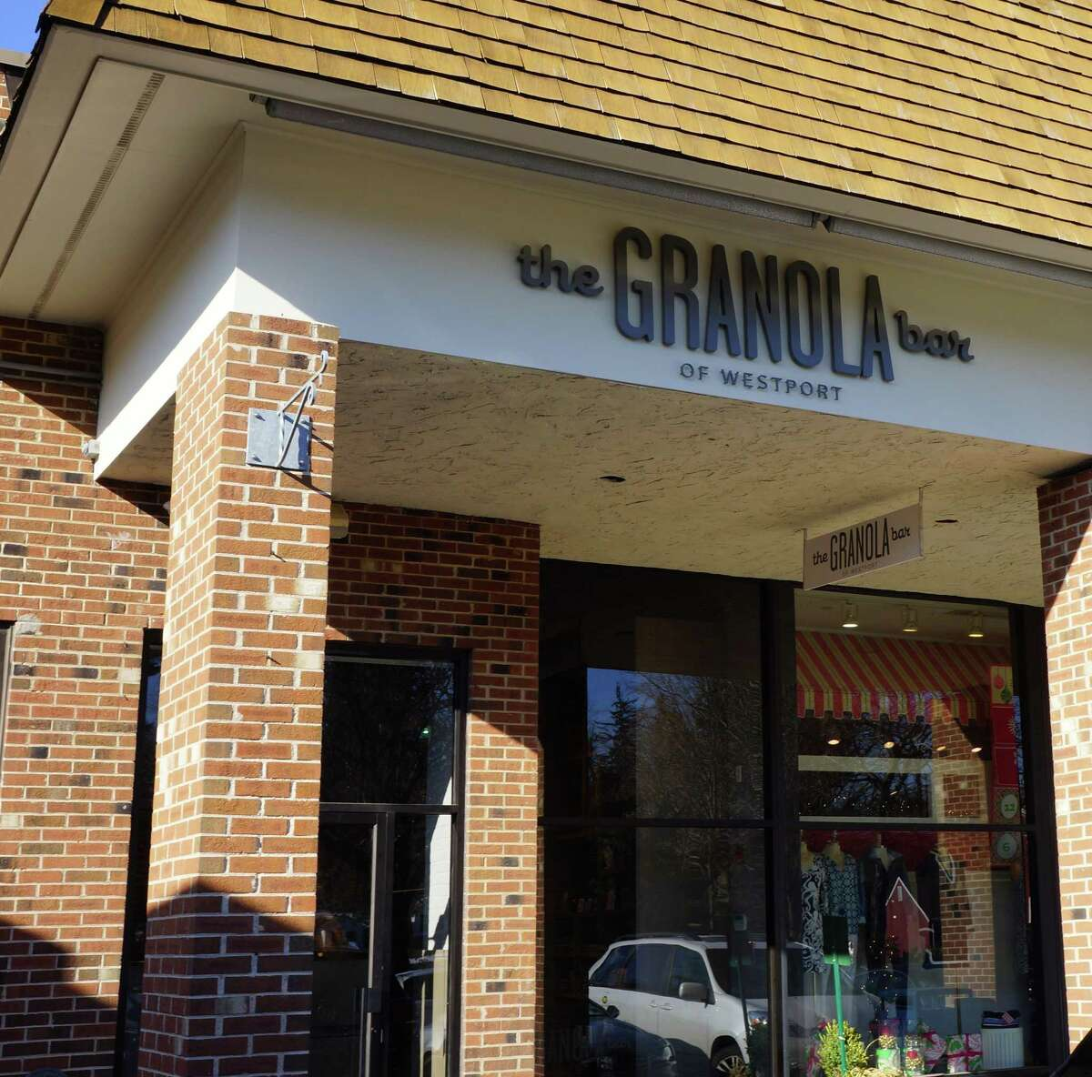 The Granola Bar Playhouse Square, 275 Post Road E. in Westport.