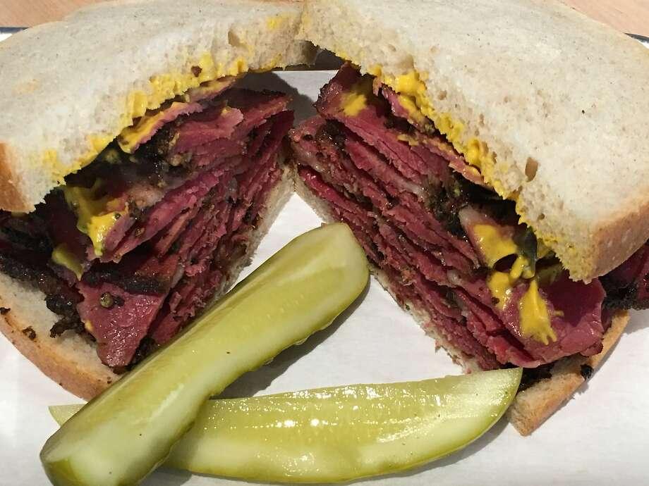 Augie's sandwich. Photo: Augie's Montreal Deli