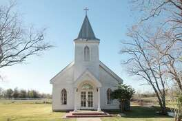 The Rosharon ranch owned by the Stevens and Pruett Foundation for Children and Animals includes a chapel.