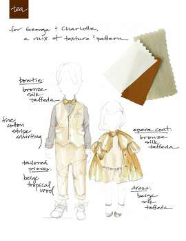 Tea Collection designer Emily Meyer's take on designing for Prince George and Princess Charlotte for the royal wedding.