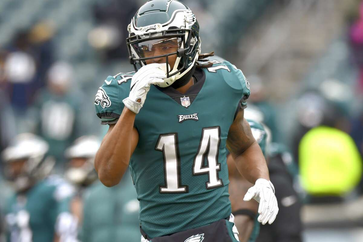 Marcus Johnson, WR, Eagles The Clear Springs and University of Texas product signed with Philadelphia as an undrafted free agent in 2016 and spent that season on the Eagles' practice squad. This season, he appeared in 10 games, hauling in four receptions for 45 yards. He was inactive for both playoff games.