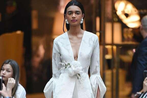 Sachin & Babi spring 2018 bridal trends.