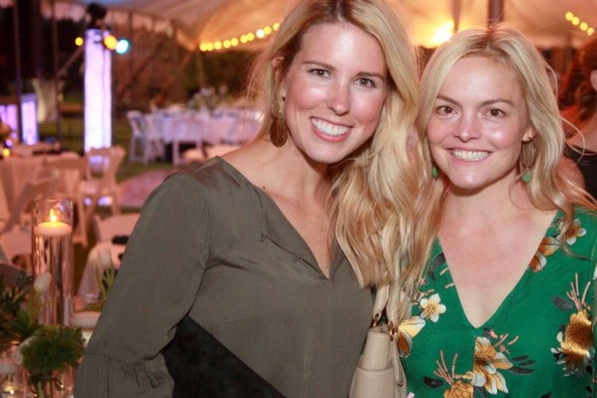 SMASH: Laura Hickey, left, and Betsy Favrot