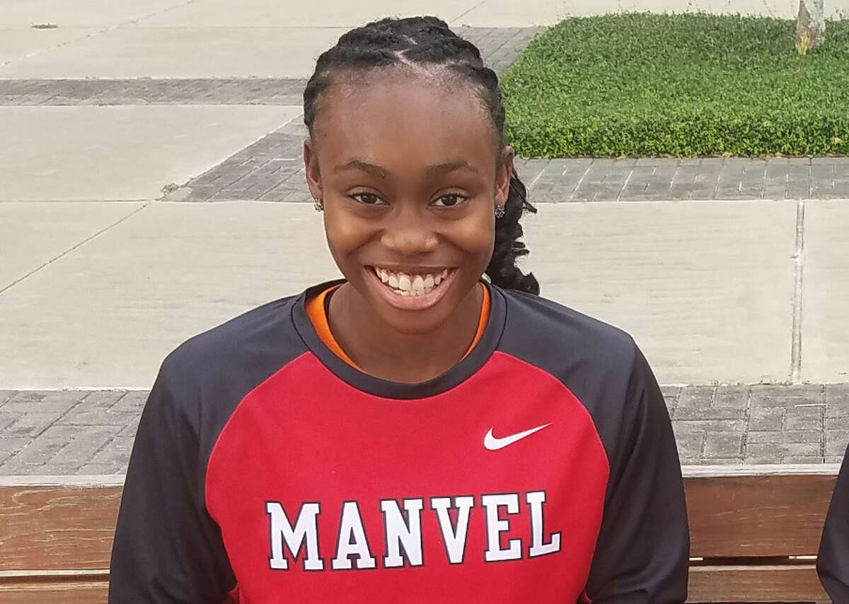 First team  McKinzie Green, Sr., Manvel Green has everything you need in a floor general and scorer at point guard. She is committed to Texas A&M.
