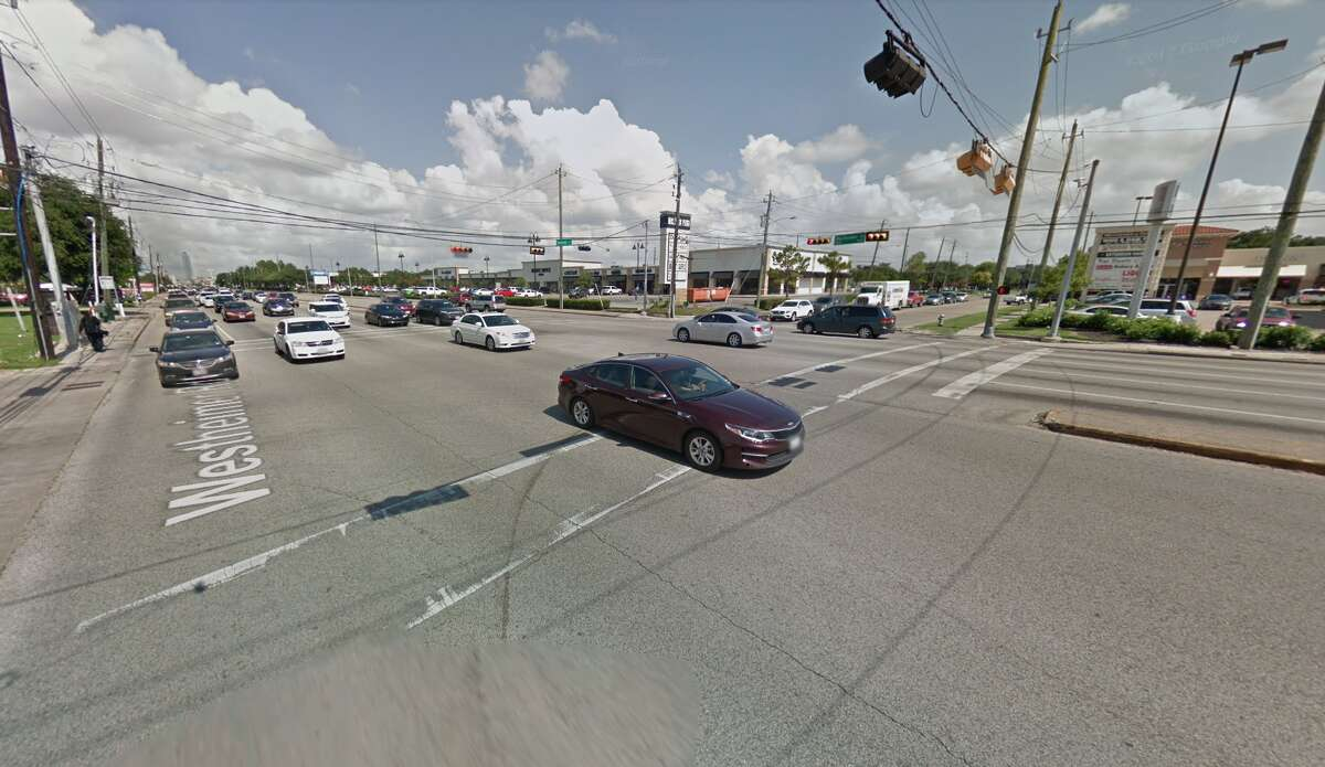A recent study examining 2012-2015 Texas Department of Transportation crash data ranked the most dangerous places to cross the street in Houston. 12. Westheimer & Dunvale Crashes: 10 Total injuries: 10 Deaths: 0 Texas rank: 69