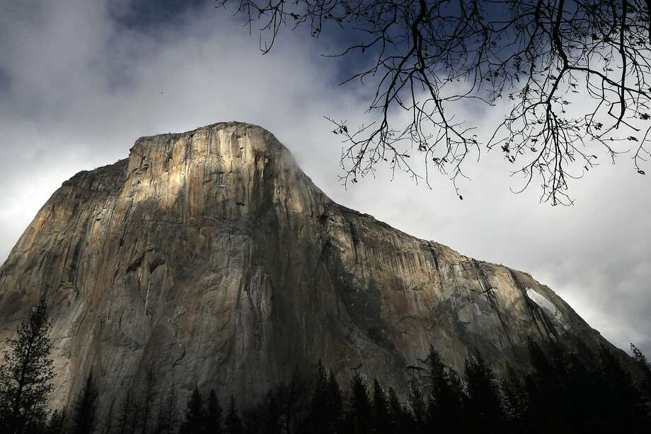 El Capitan in Yosemite National Park, in Yosemite, Calif., on Monday Jan. 22, 2018. Two people were killed Saturday morning while climbing the rock formation. Photo: Michael Macor / The Chronicle