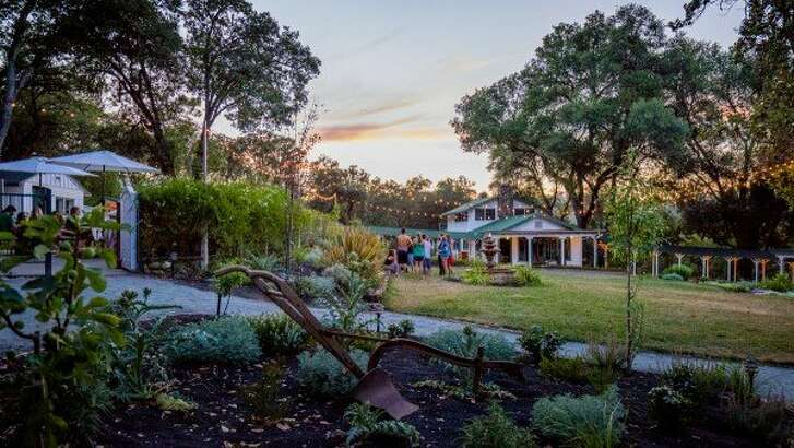 A view of�Farm to Table Relaxing Group Accommodations in Ukiah.