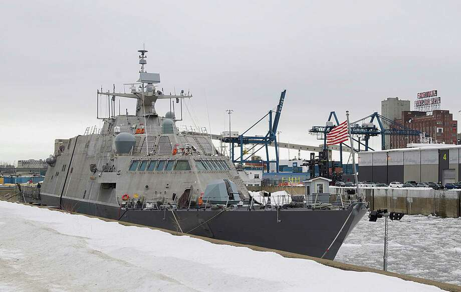The US Navy's Newest Ship Is Trapped in Canada