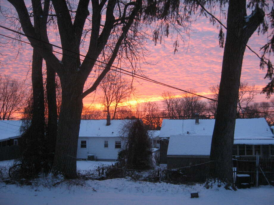 Howard Picker provided photo Sspectacular morning sky shows how nNature?s wonders await us but we need to be alert to behold them and permit them to absorb us.