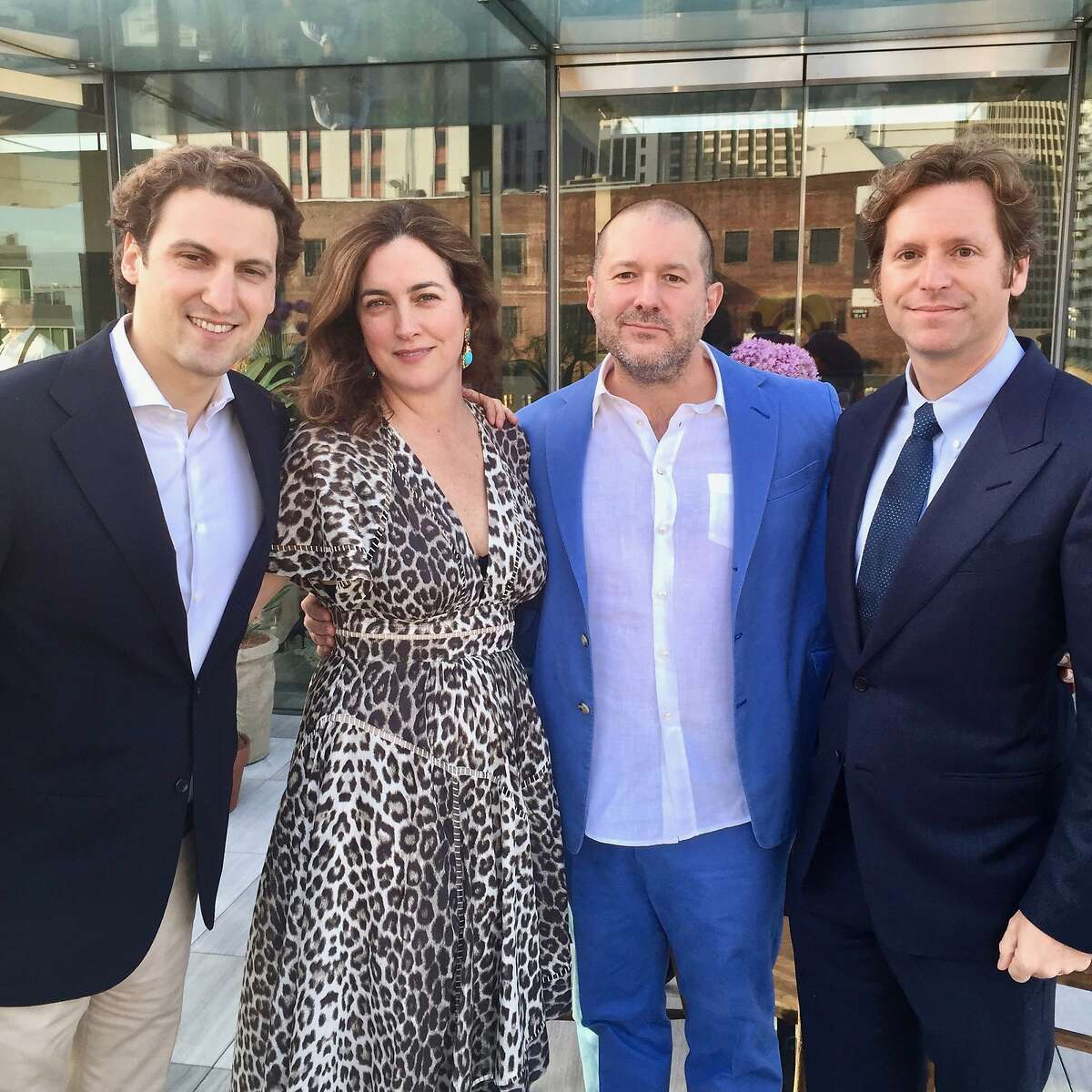 Tech entrepreneur Trevor Traina (far right, in June 2015) has been officially nominated by President Donald Trump to serve as the U.S. Ambassador to Austria, pending Senate approval.
