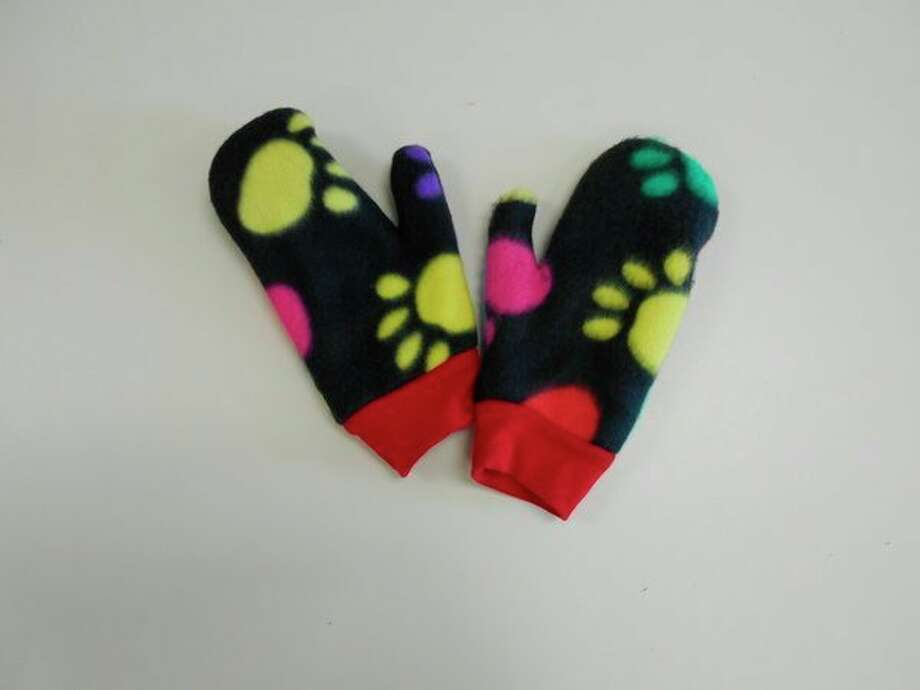 Mittens given to the NEMCSA Head Start preschoolers at Midland 3 Longview. (Photo provided)