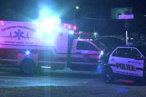 Police said the pedestrian was trying to cross the 5100 block of Rigsby Avenue around 11:30 p.m. when the driver hit him.
