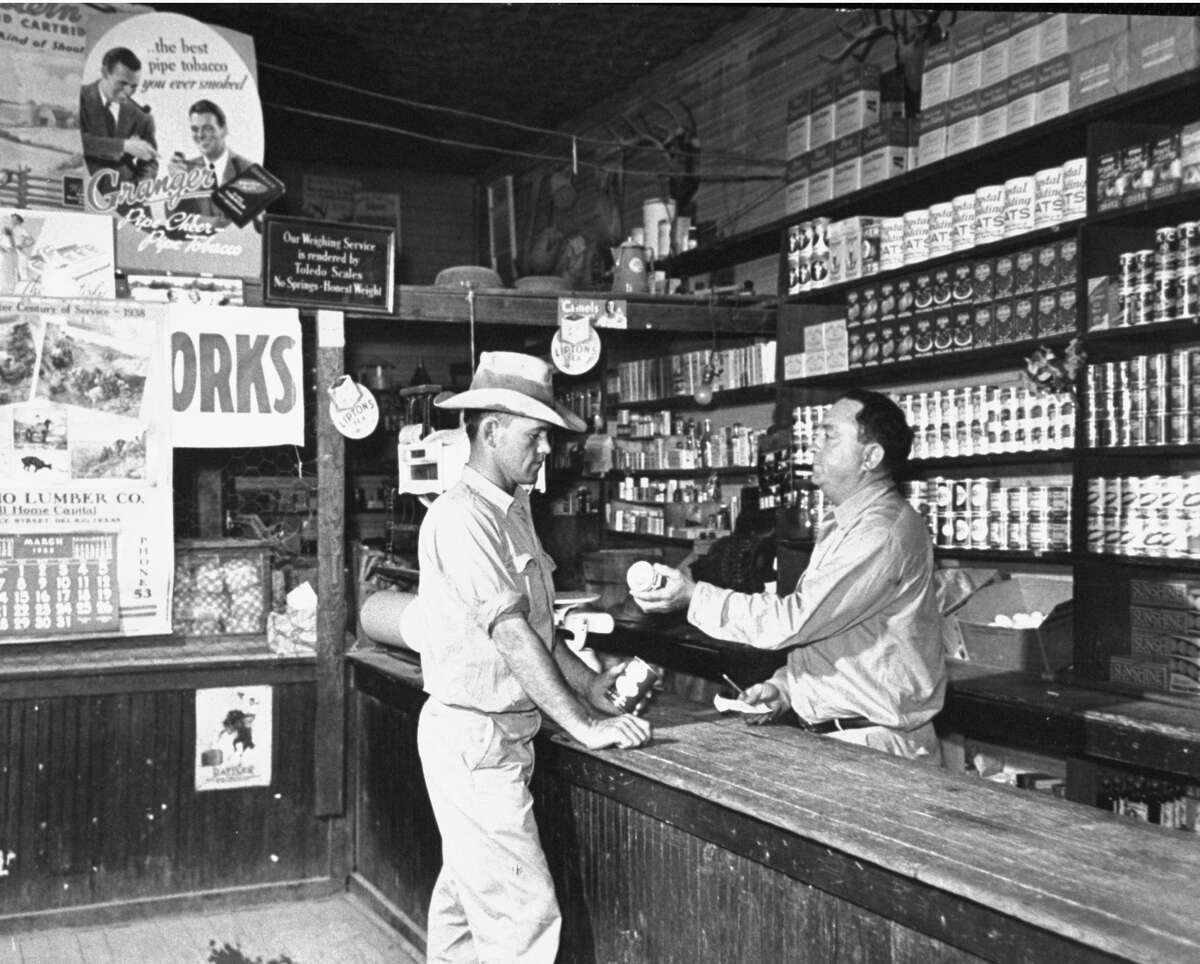 A view showing the interior of the General Store. (Photo by Carl Mydans/The LIFE Picture Collection/Getty Images)