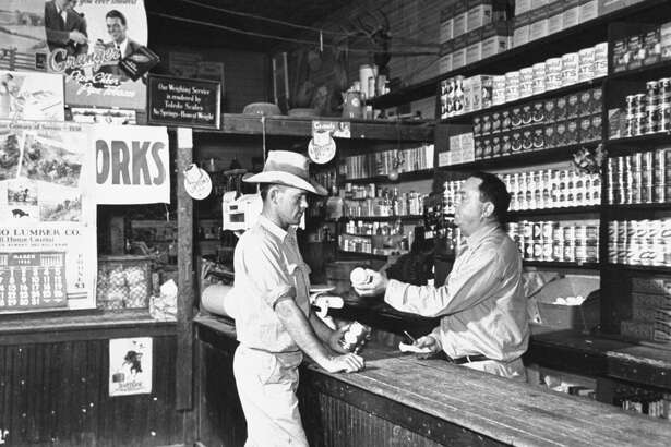 A view showing the intrior of the General Store.  (Photo by Carl Mydans/The LIFE Picture Collection/Getty Images)