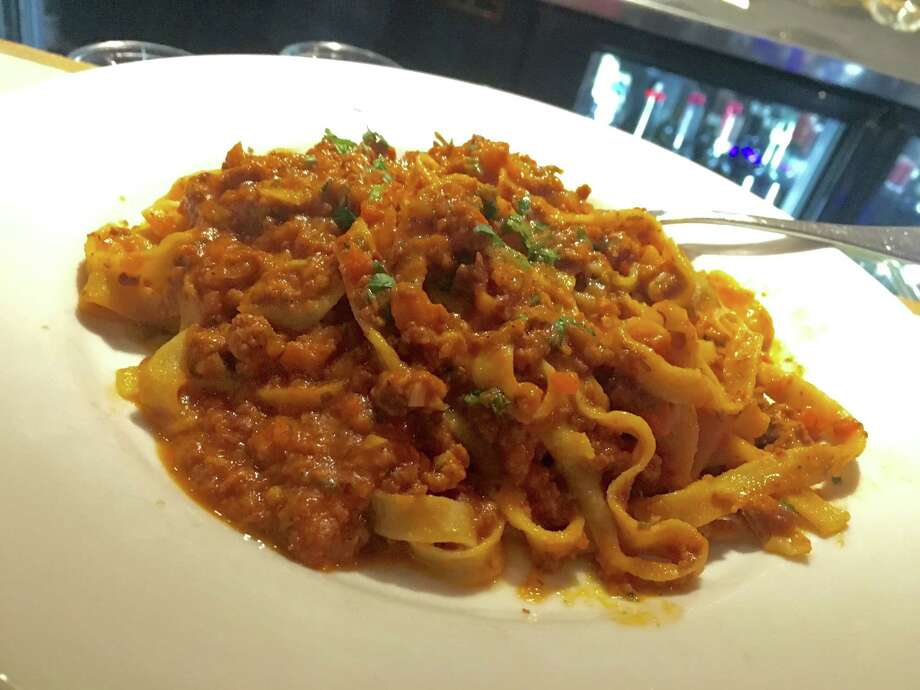 Tagliatelle alla Bolognese at Giacomo's Cibo e Vino is made with flat ribbons of tagliatelle made in-house. Photo: Alison Cook