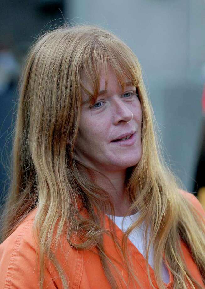 TIMES UNION STAFF PHOTO BY SKIP DICKSTEIN - Accused of prostitution and drug use Wendy Knowlton-Cook leaves the Schenectady City lock-up to return to Schenectady County Jail in Schenectady, New York after her City Court appearance October 5, 2007 Photo: SKIP DICKSTEIN, DG / ALBANY TIMES UNION