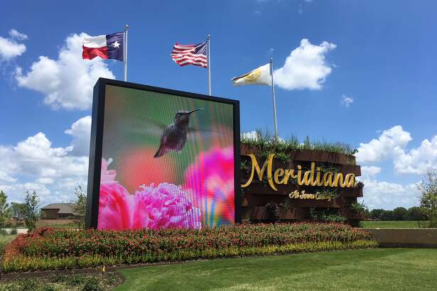 Meridiana is a development of Rise Communities east of Texas 288 at Meridiana Parkway in the Manvel/Iowa Colony area. (Katherine Feser  /  Houston Chroncile photo)