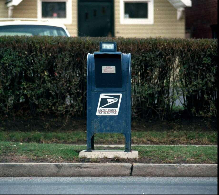 A mailbox Photo: File Photo