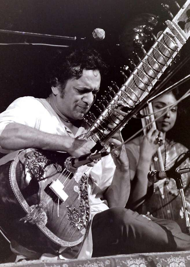 Ravi Shankar: Writing that audience should have thrown tomatoes wouldn't fly today. Photo: Mark Goff, Associated Press