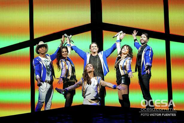 Mexican pop group Timbiriche. Photo by Victor Fuentes