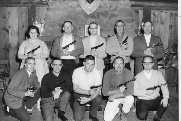 Midland Pistol Club. We welcome any of our readers to help us identify these people. Unknown date