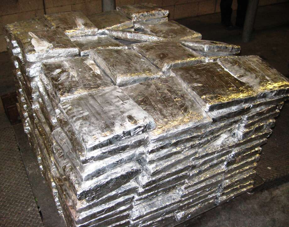 U.S. Customs and Border Protection seized nearly 800 pounds of marijuana at the Pharr International Bridge.
