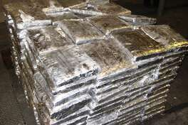 U.S. Customs and Border Protection seized nearly 800 pounds of marijuana at the Pharr International Bridge.